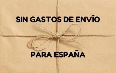 Gastos de envío gratis para España